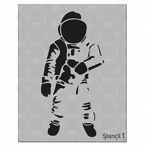 Stencil1 Astronaut Stencil-S1_01_37 - The Home Depot