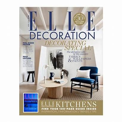 April Elle Decoration Reveal Magazine Definitive Paints