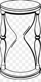 Hourglass Drawing Clip Coloring Reloj Sablier Arena Hour Figure Tiempo Dessin Glass Line Dibujo Similars Kisspng Coloriage Livre sketch template