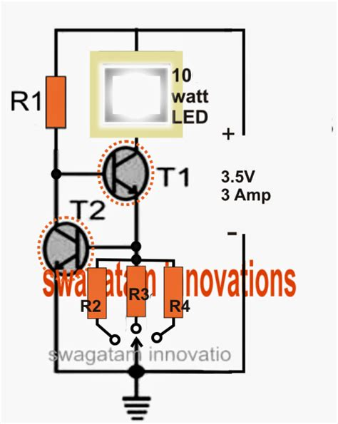 electronic circuit projects cree xm l t6 led driver