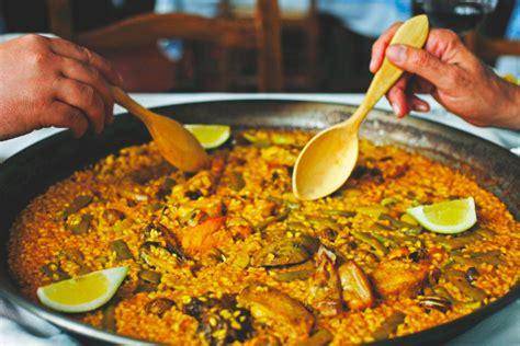 label cuisine recette de la paella valenciana