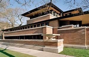 Frank Lloyd Wright Gebäude : robie house chicago illinois 1910 prairie style frank lloyd wright usa ~ Buech-reservation.com Haus und Dekorationen