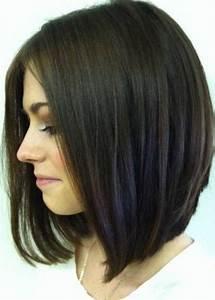 Carré Mi Long Plongeant : coupe cheveux carre plongeant ~ Dallasstarsshop.com Idées de Décoration