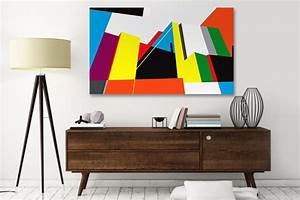 Tableau Moderne Coloré : tableau abstrait design takina izoa ~ Teatrodelosmanantiales.com Idées de Décoration