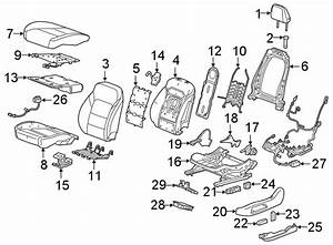 Chevrolet Blazer Power Seat Wiring Harness  Front   W