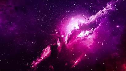 Nebula Sparkles Purple Cloud 1080p Background Laptop