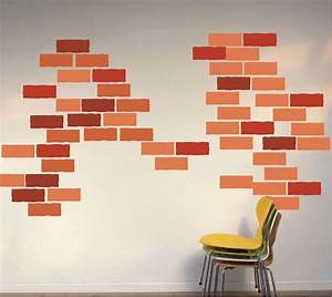brick wall decal construction wall decal murals With brick wall decal