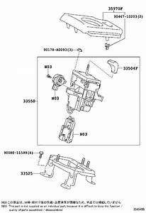 2014 Toyota Rav4 Housing Assembly  Position Indicator