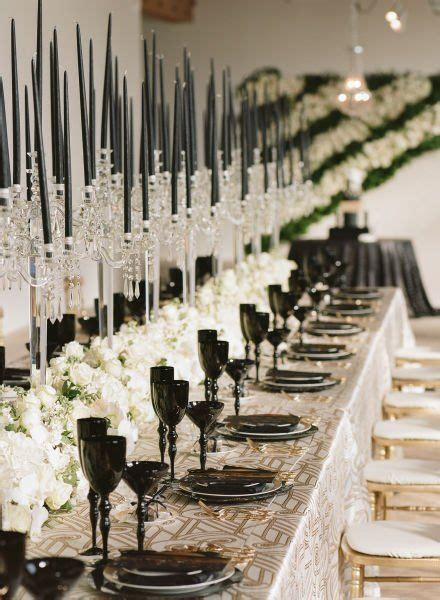 now this is how you pull off a gatsby inspired wedding