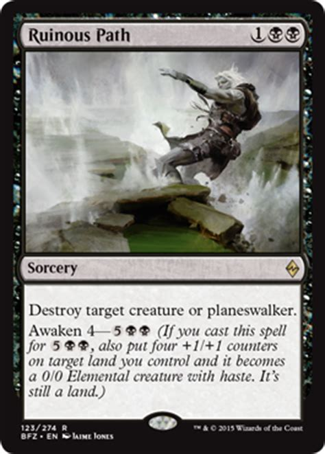 ruinous path from battle for zendikar spoiler