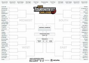 No Perfect Brackets Remain in Men's Tournament Challenge ...