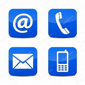 Phone Email Icons Vector Free | www.imgkid.com - The Image ...