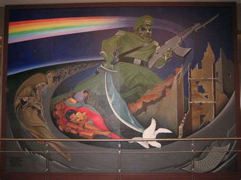 Denver Airport Murals Conspiracy Debunked by Denver Airport Conspiracy Project Avalon Forum Archive