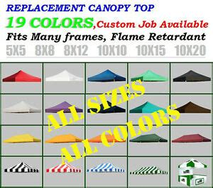 ez pop  canopy replacement top cover  outdoor patio sunshade party tent ebay