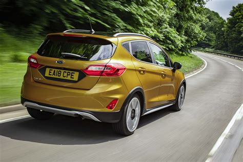 New Ford Fiesta 1.0 Ecoboost 125 Active X 5dr Petrol