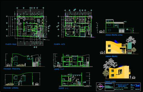 Restaurant, Hotel 2D DWG Plan for AutoCAD ? Designs CAD
