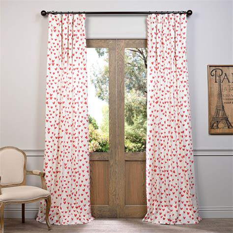 printed drapes curtains sweethearts printed cotton curtain designer curtains