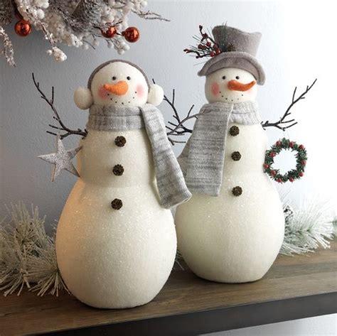 cutest snowman decor ideas   winter digsdigs