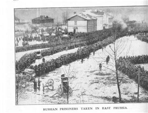 russian pows  east prussia