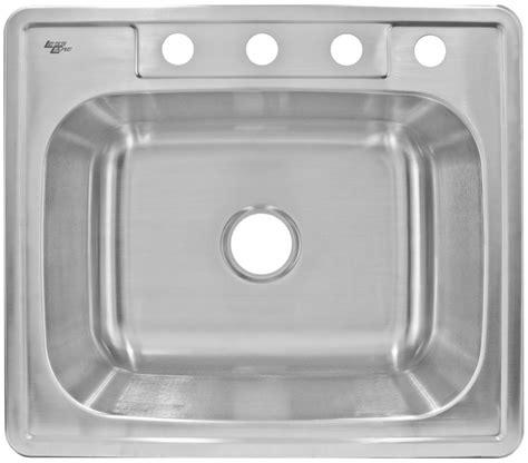 best gauge for stainless steel sink stainless steel sink top mount 20 gauge lesscare lt64