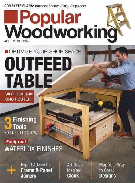 popular woodworking magazine digital discountmagscom