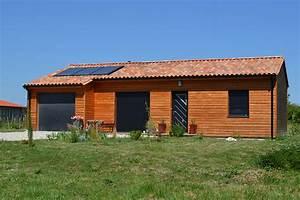 Maison En Bois Tout Compris : maison bois alouette p rigord maisons bois ~ Melissatoandfro.com Idées de Décoration