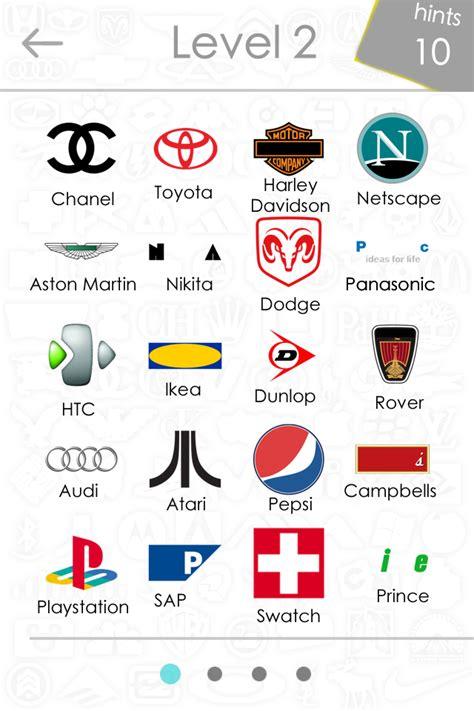 logo quiz answers level 3 automotive car center