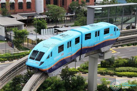 hitachi small type monorail sentosa express land
