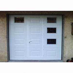 Porte de garage sectionnelle a cassette 4 m x 3 m achat for Doitrand porte de garage