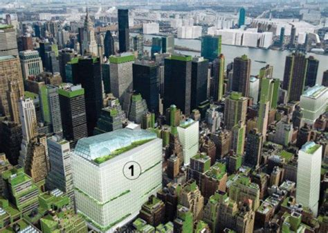 Vertical Gardens Nyc by Terreform Proposes Covering Nyc With Vertical Gardens