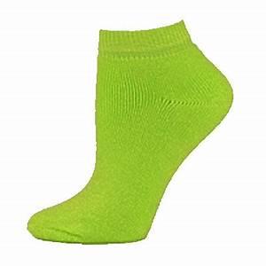 Fluorescent Neon Adult Low Cut Ankle Socks