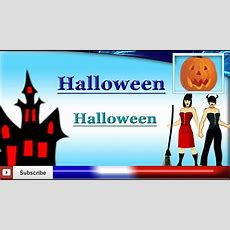 Learn French  Halloween Vocabulary Youtube