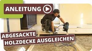 Schiefen Holzboden Ausgleichen : abgesackte holzdecke im fachwerk ausgleichen deckenbalken ausgleichen und mit rauspund ~ A.2002-acura-tl-radio.info Haus und Dekorationen