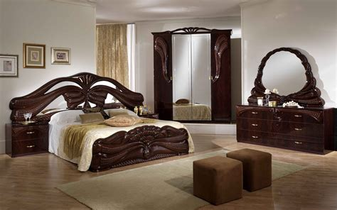chambre adulte italienne decoration chambre baroque moderne