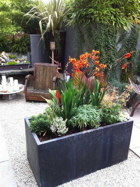 planter box ideas planter box ideas with container plant geometric geometry rock