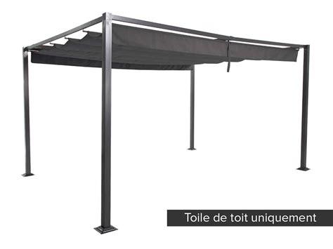 toile pour tonnelle 3x3 toile de toit pour la tonnelle elliston hesp 233 ride jardideco