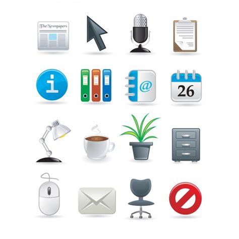telecharger bureau icônes bureau collection télécharger des vecteurs gratuitement