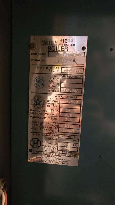 burnham boiler clicking  turn offon randomly
