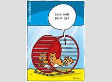 Hamsterrad ruthede Comics & Cartoons