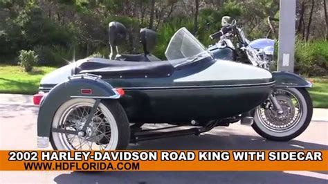 Used 2002 Harley Davidson Road King with Sidecar ...