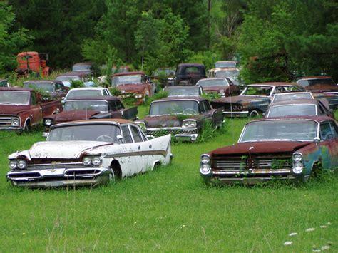 Junkyard Beauties   AmcarGuide.com   American muscle car guide