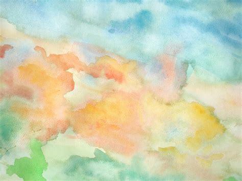 abstract watercolor sky wall mural photo wallpaper