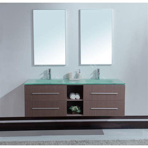 modern double sink vanity calypso 60 inch modern double sink bathroom vanity unique