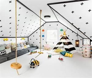 Idée Rangement Salle De Jeux : d co salle de jeux enfant 24 exemples inspirants ~ Zukunftsfamilie.com Idées de Décoration