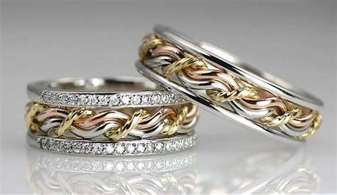 christian cord of three wedding ring