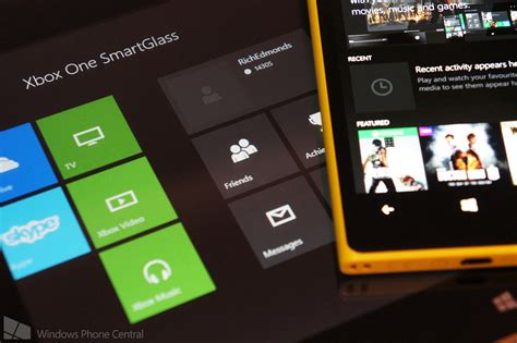 microsoft completes the family releases xbox one smartglass for windows 8 1 windows central