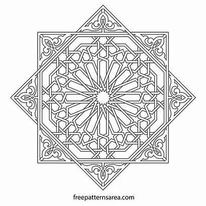 Islamic Geometric Ornament Pattern Patterns Block Vector