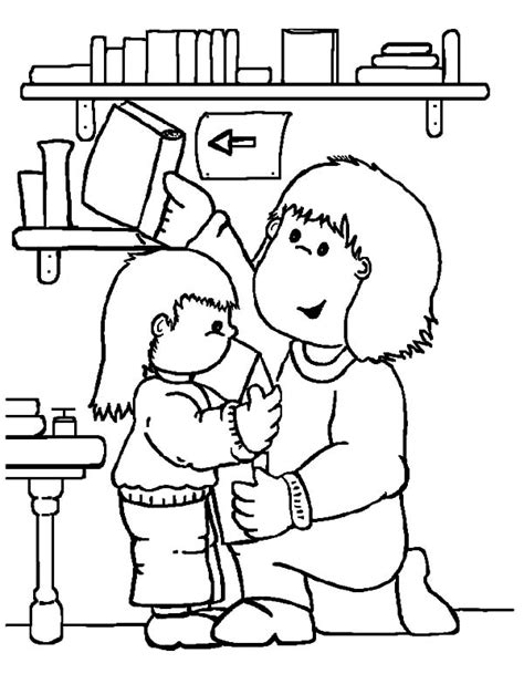 library coloring pages printable coloring image