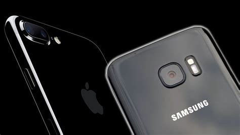 jealous of iphone 7 s jet black finish samsung may make one of its own soon techradar