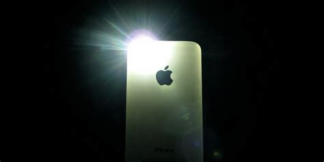 light on iphone your iphone flashlight is spying on you